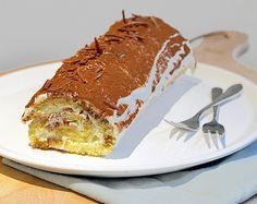 Samen met Pauline en Brenda maakte ik een spectaculair dessert voor na het kerstdiner: een Buche de Noel tiramisu. Te lekker en vooral erg indrukwekkend.