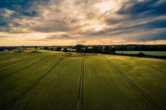 Farmland Denmark, Denmark by drone, Drone, Drone landscapes, Drone photography, Drones, Dronestagram, Landscape, Landscape photography, Nature, Nature photography