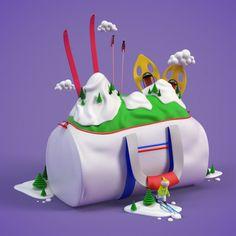 French Federation of Ski Illustrations_5