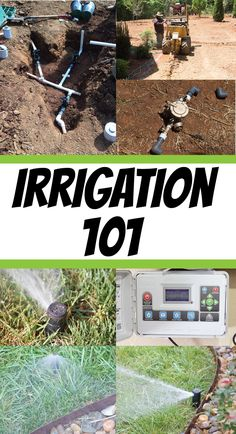 Water is vital in protecting your investment in you lawn and landscape Learn about Irrigation :: Basics of a Residential Irrigation System with @Matt @ theDIYvillage #Decorating_Landscape #Landscape_Design #Top_Native_Plants #Landscape