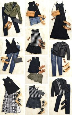"""My Minimal Wardrobe – How Having A """"Uniform"""" Simplifies My Closet & Saves Me Money (Young House Love) Fall Outfits, Casual Outfits, Cute Outfits, Fashion Outfits, Womens Fashion, Fashion Tips, Holiday Outfits, Petite Fashion, Fashion Bloggers"""