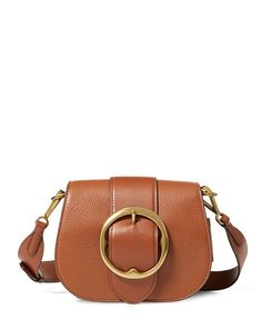 Pebbled Leather Lennox Bag - Polo Ralph Lauren Hobos & Shoulder Bags - RalphLauren.com