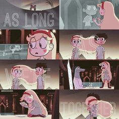 As Long As We're Together<<That Starco Action though