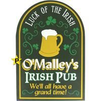 Pub Signs and Personalized Signs from The Perfect Sign - Irish Signs, Irish Bar Signs, Irish Pub Signs