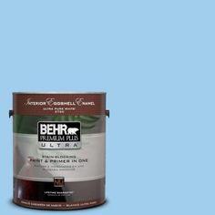 BEHR Premium Plus Ultra 1-gal. #P510-2 Mediterranean Charm Matte Interior Paint-175001 - The Home Depot