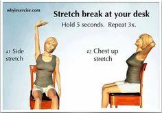 Stretch break