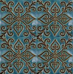 Roma - Eleganckie turkusowe płytki dekoracyjne - 5