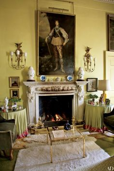 Enchanting portraits add personality to these rooms | archdigest.com
