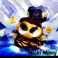 Nicki Minaj  Hello! I listened to new track of Nicki Minaj!(http://shar.es/Q9Mij) And she has new look in there!! Cool!  Her rap is really great! She is one of innovators!   #mizumushikun   #nickiminaj   #music   #art   #vivid