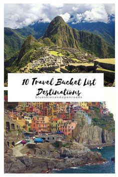 Travel Diary: My 10 Travel Bucket List Destinations - Blue Skies and Open Roads