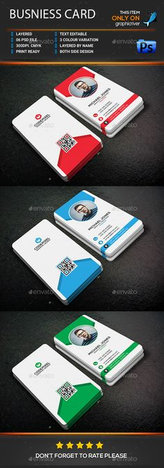 #Business Card - Business Cards Print Templates Download Here:  https://graphicriver.net/item/business-card/18106171?ref=suz_562geid