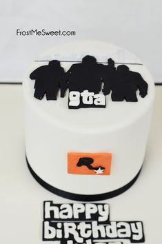 GTA Grand Theft Auto Cake