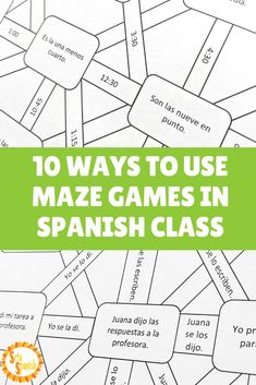 Learn Spanish For Adults Fun Preschool Spanish, Spanish Teaching Resources, Spanish Activities, Spanish Games, Spanish 1, Middle School Spanish, Elementary Spanish, Spanish Lesson Plans, Spanish Lessons