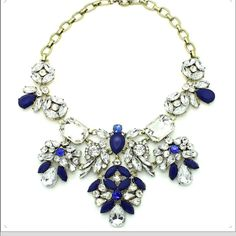 Coming Soon!! Stunning Necklace Gold & Blue Jewelry Necklaces