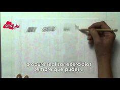 Aprender a Desenhar. Nivel básico. Exercícios de Aquecimento (+playlist)