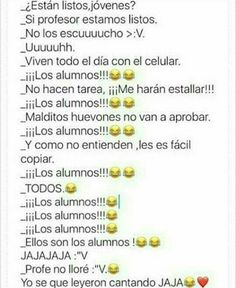 Read 35 from the story Memes sobre la escuela by with reads. Funny Spanish Memes, Wattpad, Naha, Best Memes, Funny Images, Funny Photos, Jokes, Instagram, Anime