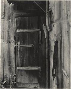 The Iron Latch, East Jamaica, Vermont; Paul Strand (American, 1890 - 1976); 1944; Gelatin silver print; 24 x 19.2 cm (9 7/16 x 7 9/16 in.); 86.XM.683.70; Copyright: © Aperture Foundation