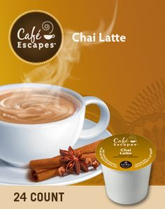 Chai Latte K-Cup Pack .... LOVE THIS STUFF!!'