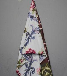 Ριχτάρι Κάλυμμα Πολυθρόνας Ζακαρ Bijoux Μωβ Λουλούδι - Ριχτάρια | Pennie®