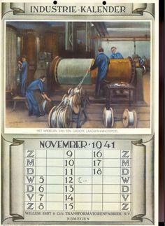 Hermann Heijenbrock - Industriekalender1941