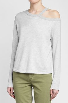 Rag   Bone - Sky Top with Cut-Out Neck 3779f444d57