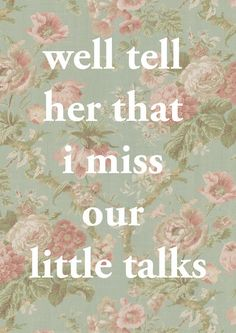Of Monsters and Men - Little Talks - I miss our little talks