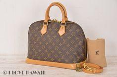 Louis Vuitton Monogram Alma Hand Bag M51130