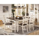 Found it at Wayfair - Whitesburg Extendable Dining Table