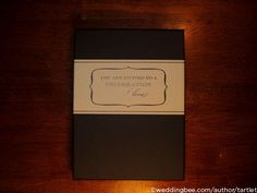 The Tartlet Invites, Part I :  wedding diy invitations rochester stationery Unwrapp Unwrapp