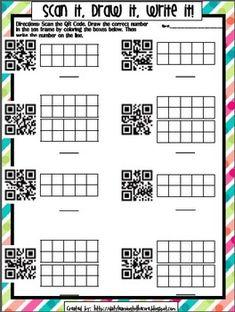 QR Code Ten Frame Practice!