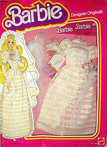 Outfit Barbie 77 79 Barbie Box, Barbie Dream, Barbie And Ken, Vintage Barbie Clothes, Doll Clothes, Fashion Tv, Fashion Dolls, Disney Characters Costumes, Barbie Wedding Dress