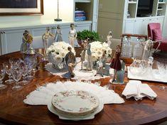 mesa vintage, porcelana, mesa posta, tablescape decor, table setting