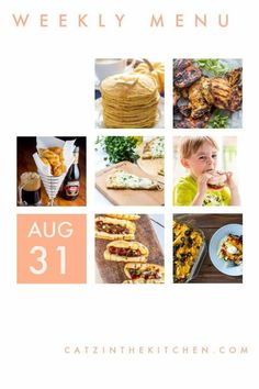 Weekly Menu for the Week of Aug 31 #weeklymenu #mealplan #mealplanMonday #dinnerideas Beer Recipes, Easy Dinner Recipes, Grilled Honey Mustard Chicken, Mushroom Wine Sauce, Beer Battered Fish, Family Meals, Family Recipes, Fall Breakfast, Yummy Food