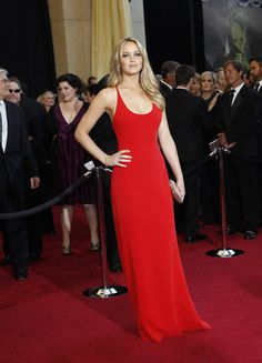 Celebrity Fashion Trend: Red Dresses