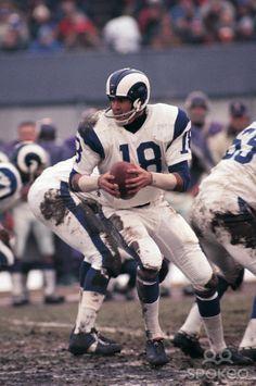Vintage Sports Pictures Los Angeles Rams quarterback Roman Gabriel (1970)