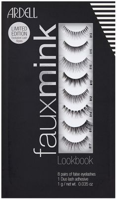 Faux Mink Lash Lookbook 8 Pairs + Duo | Ulta Beauty