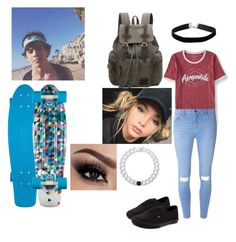Penny Boarding with Hayes Grier in California by ganderson1127 on Polyvore featuring polyvore Aéropostale Dorothy Perkins Vans Lokai Miss Selfridge fashion style clothing