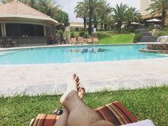 Poolside in #Nam #Windhoek #SafariCourt