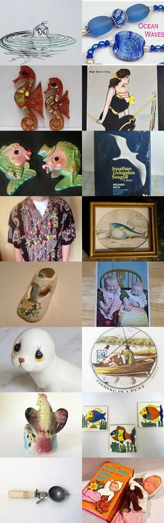 Road Trip With The Grand- Baby To Riverhead Aquarium ! KIVSTEAM by mary bing on Etsy--Pinned with TreasuryPin.com