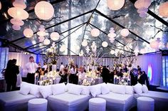 modern marquee wedding lounge area styling - brides of adelaide