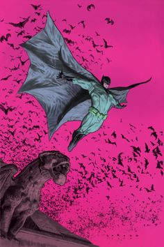 Batman's Ascent - Lewis LaRosa, Colors: Rico Renzi