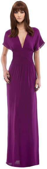 Smocked Maxi-Love the style and the color.