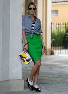 12. Helena Bordon: Fashion blogger Site: Helena Bordon Instagram: @Helena Bordon