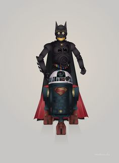 Batdroid and Superdroid