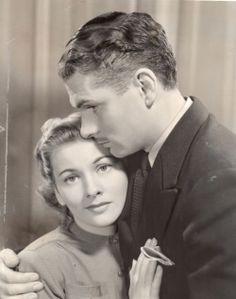 Joan Fontaine and Laurence Olivier - Rebecca
