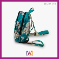This aqua mini bag might be what you're looking for!   More information: https://www.facebook.com/Wanderlustgt/?fref=ts  #bag #backpack #design #guatemala #personalized #cool #wanderlust