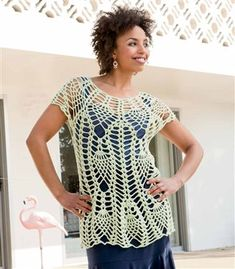 Capri Cover, As Seen on Knitting Daily TV with Vickie Howell Episode 1212 - Media - Crochet Me
