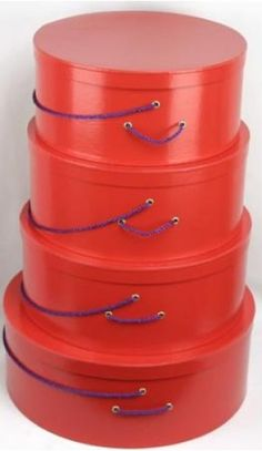 Red Hat Society Hat Boxes http://www.rrbycresa.com/Hat-Boxes/hat_hatboxesred.jpg