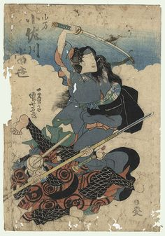 Tomoe Gozen The famously beautiful samurai warrior Tomoe fought in Japan's Genpei War (1180-1185 CE). She was known throughout Japan for her skills with the sword and the bow. Her wild horse-breaking skills were also legendary.