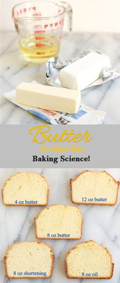 Butter is a great cake tenderizer. Learn how to change the amount and type of fat to get your best cake texture.